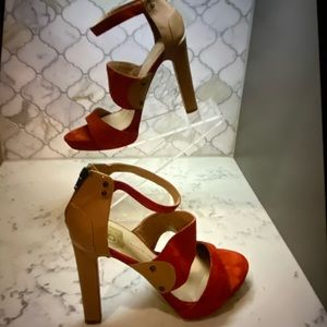Women's DV BY Dolce Vito Red heels size 9